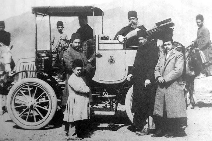 اولین خودرو در ایران / اولین اتومبیل در ایران